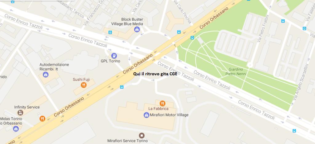 Mirafiori Motor Village ritrovo CGE