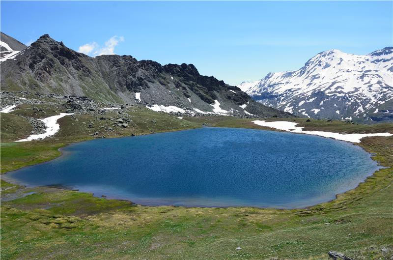 Il pittoresco Lago Corona