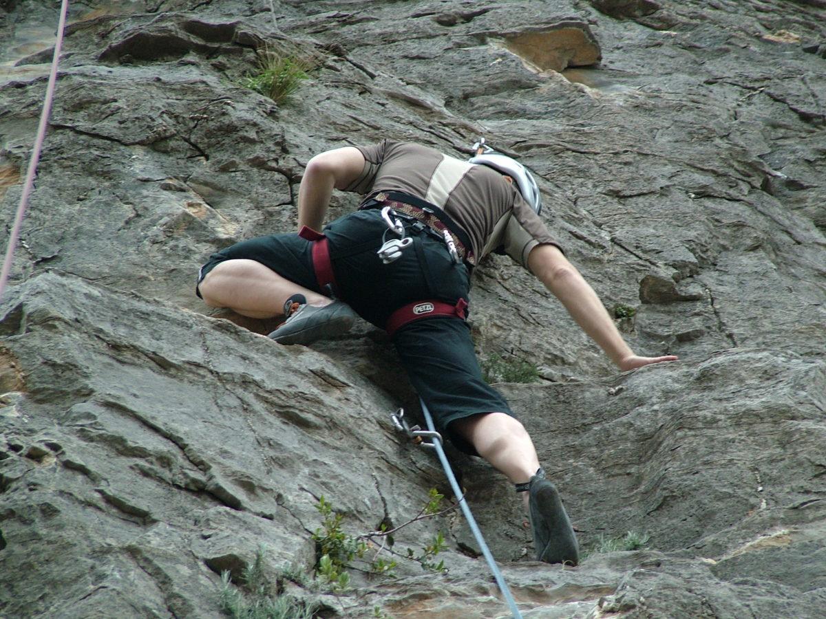 Giornata di avvicinamento all'arrampicata libera