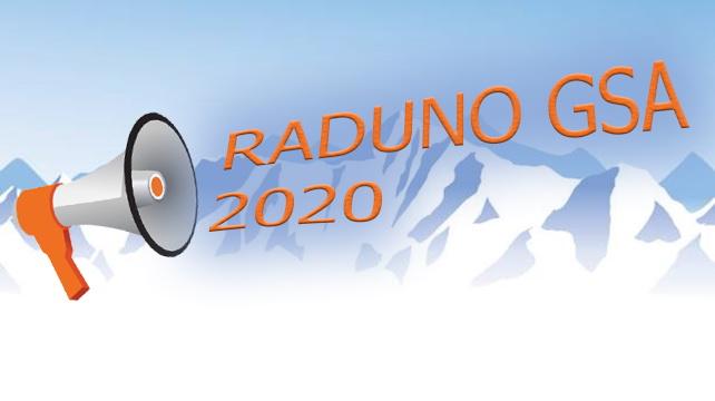 Raduno 2020 GSA